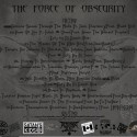 Force of Obscurity Back Cover