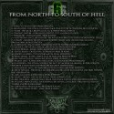 From North To South Of Hell vol. 6 - back cover by Kachin