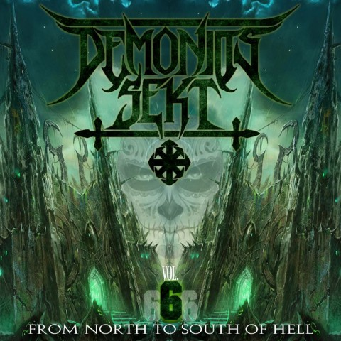 From North To South Of Hell vol. 6 - front cover by Kachin